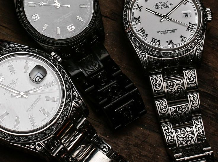 Hands-on with the hand-engraved rolex watches of MadeWorn and discussing them with brand brand founder Blaine Halvorson.