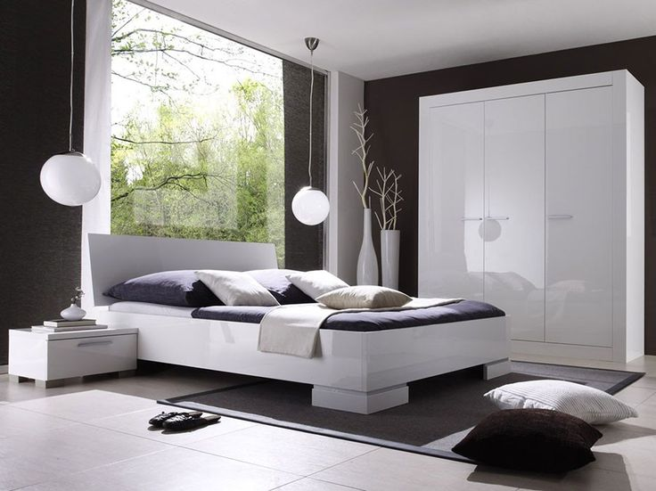93 best images about chambre adulte design ou for Chambre adulte laque blanc