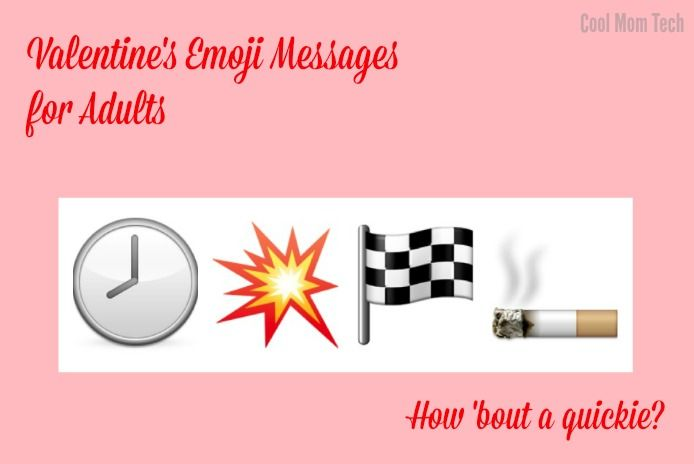 Funny Valentine's emoji messages: How bout a quickie?