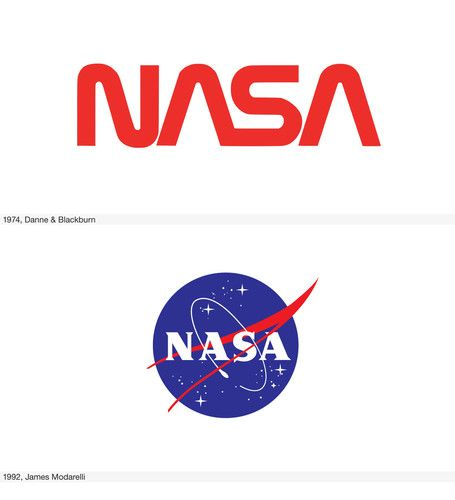 22: NASA | The Histories Of 11 Super Famous Logos, From Apple To Levi's | Co.Design: business innovation design