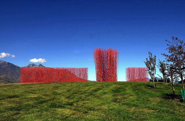 Konstantin Dimopoulos: Red Ridge - Arrowtown, New Zealand