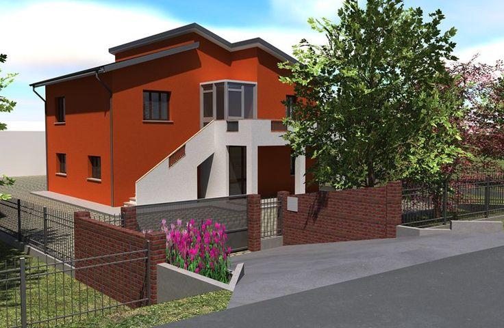 Ristrutturazione e modifiche prospettiche di un fabbricato residenziale, Chioggia, 2011 - Denis Rudellin