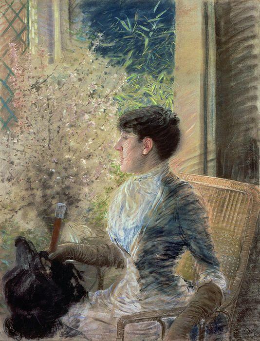 """Giuseppe De Nittis (1846–1884) """"Bow window"""""""
