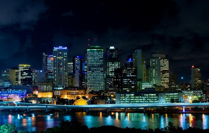 South Bank   Brisbane   Rydges Hotel views