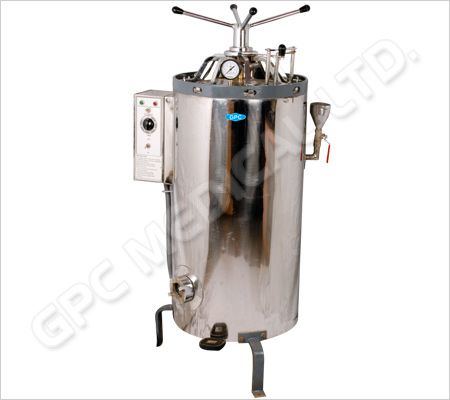 Vertical High Pressure Autoclaves - Triple wall with steam jacket