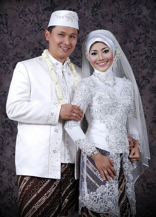 Indonesia charm: Muslim Wedding Kebaya