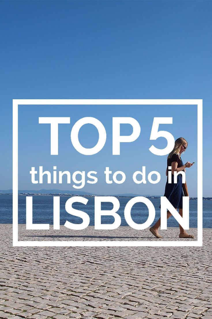 not your usual top 5 :-) top 5 things to do in Lisbon & we suggest a visit to cascaisI praia do guinchoI The oitavos hotel I sintra. It's all on the way to magnificient places to visit.