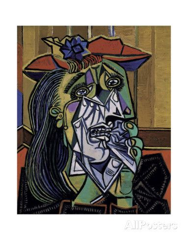 Weeping Woman, 1937 Art by Pablo Picasso at AllPosters.com ...