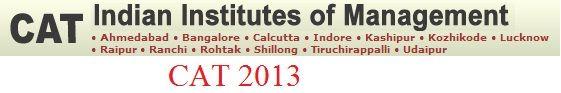 CAT 2013 Application Form registration Exam Schedule notification www.catiim.in