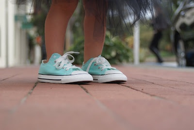 Tiffany blue toddler converse