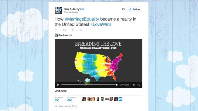 12 Winning Marketing Tweets After the Supreme Court's Ruling for Same-Sex Marriage | Adweek  #SCOTUSMarriage