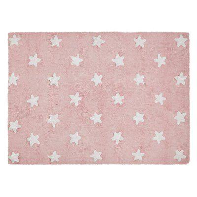 Lorena Canals Stars Kids Area Rug Pink - C-R-SW