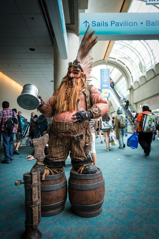 Dwarf Cosplay - San Diego Comic-Con 2014 From Warhammer Online by the looks of it?