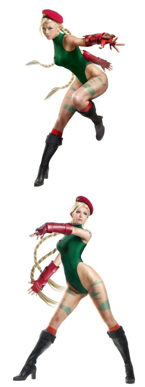 Cammy White of Street Fighter II #Cosplay and Photo #Touchup by Momoko