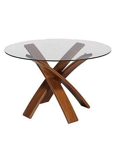 Jasper Dining Table Walnut   M&S
