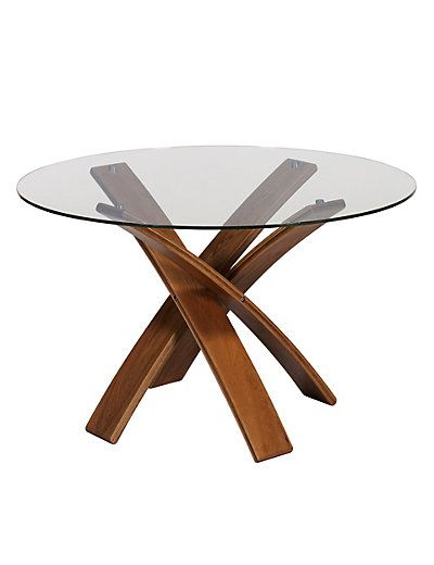 Jasper Dining Table Walnut | M&S