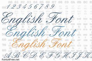 English Font