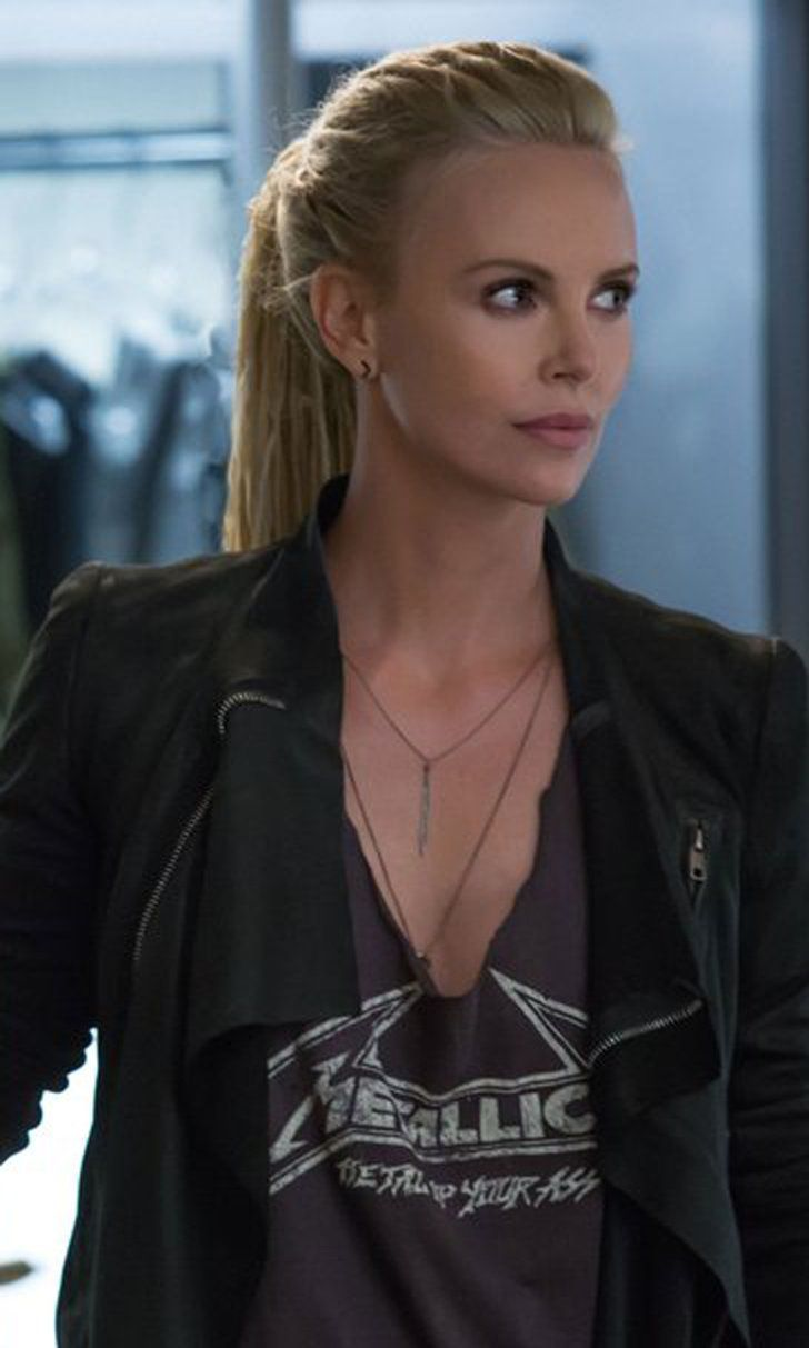 Here's the First Look at Charlize Theron as Fast 8's Villain