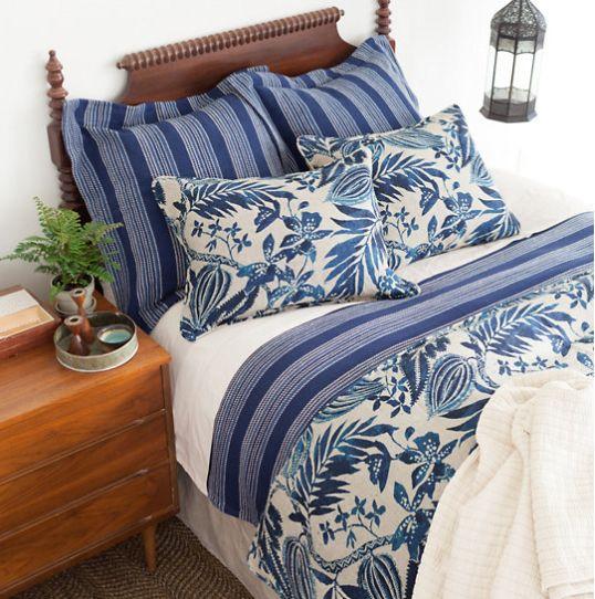 Pine Cone Hill Antigua Decorative Pillow - Cottage & Bungalow