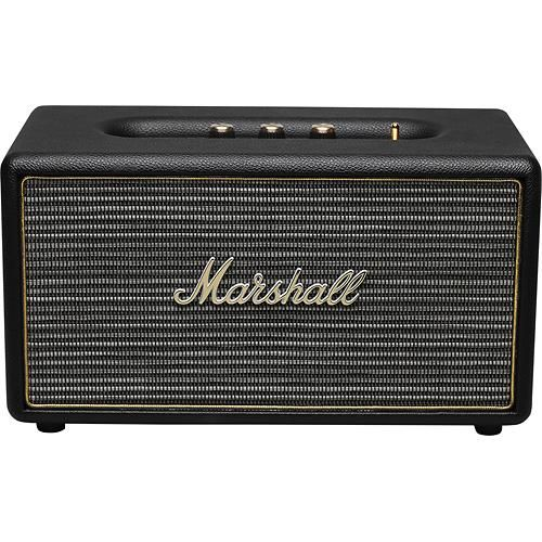 Marshall - Stanmore Bluetooth Speaker - Black - Larger Front