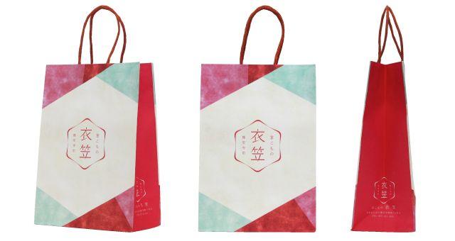 小物販売店様の紙袋事例|オリジナル紙袋なら井上工業所