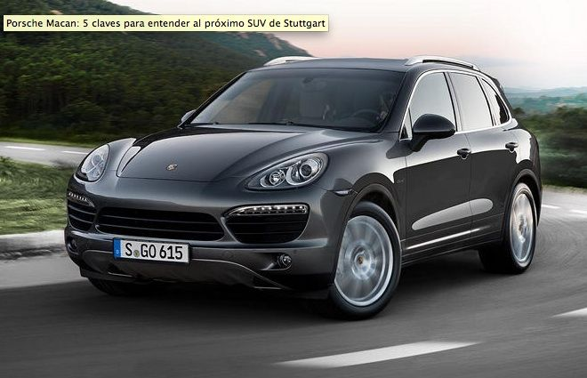 Porsche Macan 2014: all the information of the Porsche SUV
