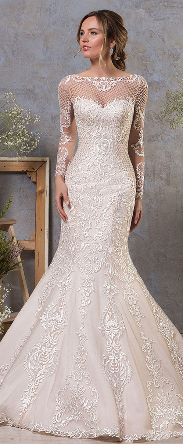Lace wedding dress for short person january 2019  best ドレス images on Pinterest  Short wedding gowns