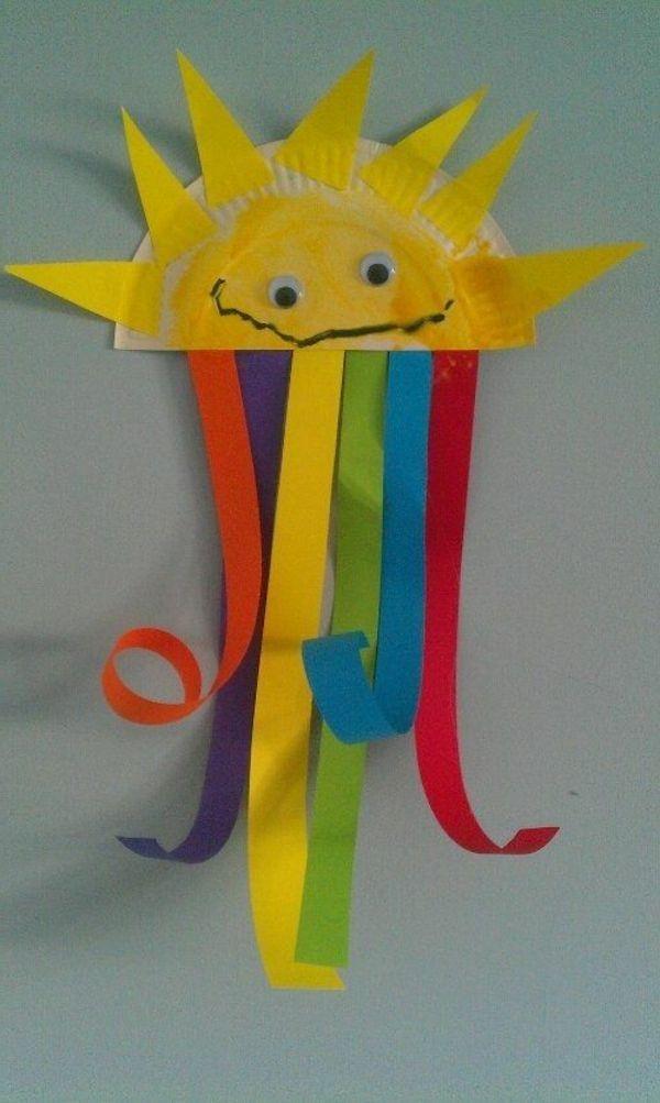 schöne idee für basteln im kindergarten