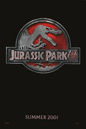 JURASSIC PARK III 3 MOVIE POSTER 2 Sided ORIGINAL Advance 27x40 @ niftywarehouse.com #NiftyWarehouse #JurassicPark #Jurassic #Dinosaurs #Film #Dinosaur #Movies