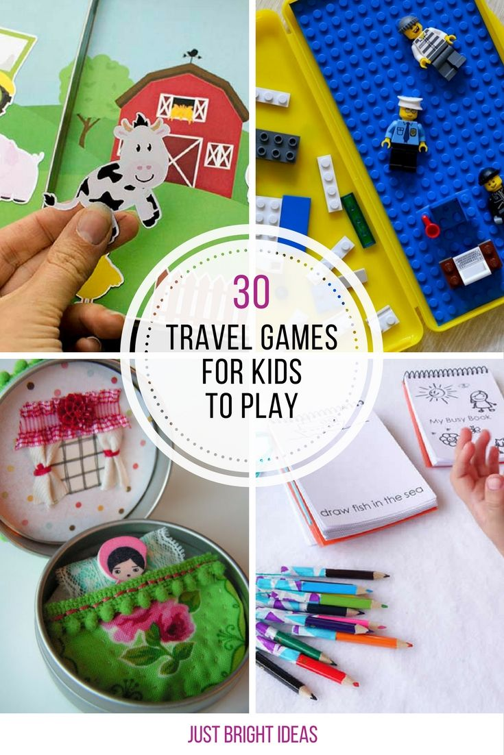 Loving these travel games! So many ideas to keep kids occupied on road trips!