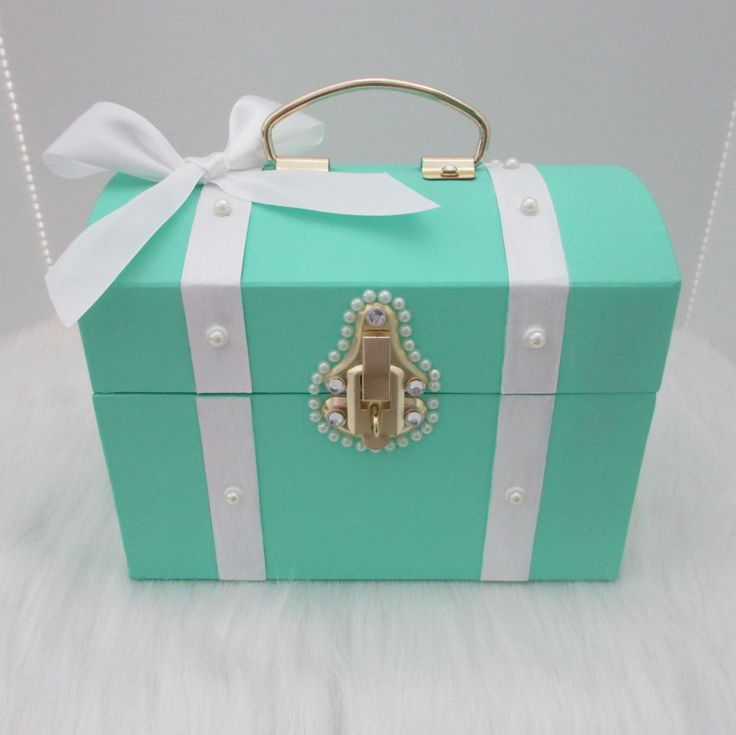 Mint, Tiffany and Co Blue, Blue Box,Treasure Chest,Any ...