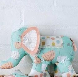 Слоники - забавные подушки-игрушки. Выкройки.