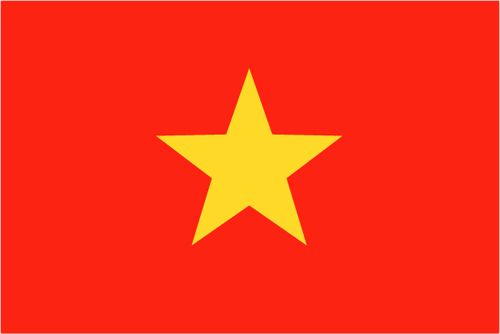 History: The Vietnam flag was made of yellow and red on November 30th 1955, red symbolizing luck and happiness as well as revolution and the struggle for liberty, and yellow for royalty, the star shape represents socialist ideals. Other historical events would be April 30th, 1975: Liberation day, and September 2: National Day, Ho chi Minh declared independence