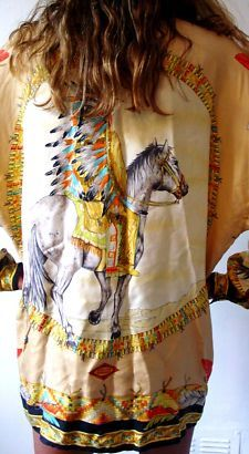 Vintage Versace Western Style- would never wear but it's beautiful