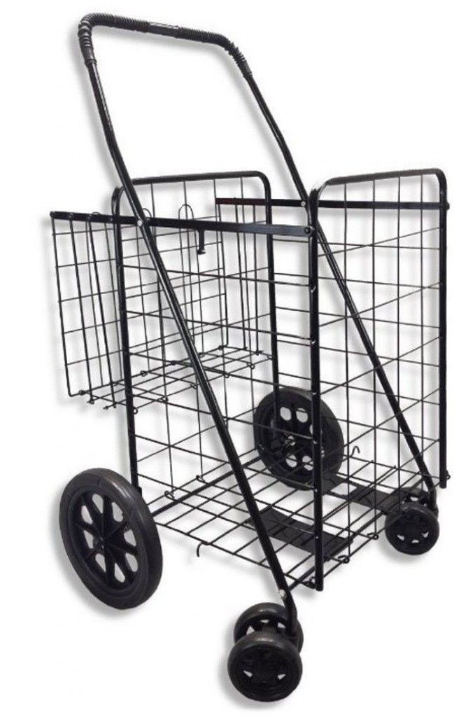 Great Portable Utility Cart With Wheels
