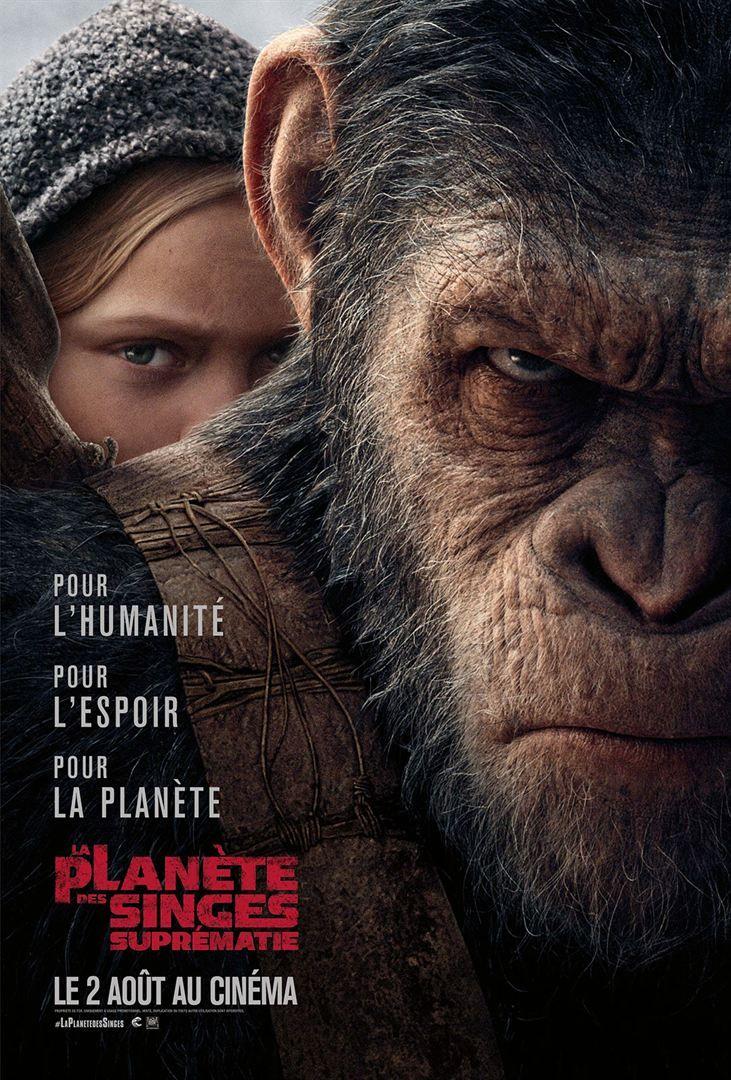 """La Planète des Singes - Suprématie (2017) Streaming""""Film Complet"""
