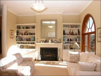 Beige living room idea from a real Australian home - Living Area photo 1285470