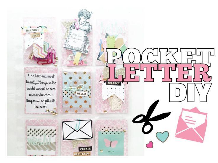 Best Pocket Letters Images On   Pocket Letters