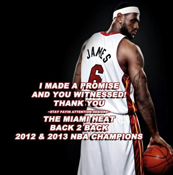 CONGRATS To The 2013 NBA CHAMPIONS 2 Rings Back 2 Back! The @MiamiHeat Win Game 7 NBA Finals The Miiiiiiiiiiiiiiiiiiiiiiiiiiiiiiiiiiiiiiaaaaaaaaaaaaaaaaamiiiiii Heeeeeeeeeeeeeeeeeeeaaaaaaaaat!!!! 2013 NBA Champions #letsgoheat #miamiheat #kings #heatnation #lebronjames #dwaynewade #chrisbosh #rayallen #mariochalmers #norriscole #birdman #champions #miami #lebrons #winners #witness #promise #real #nbaplayoffs #easternconference #nbafinals #imjustsayin #MVP  ☆★☆★☆STAY PAYIN ATTENTION☆★☆★☆