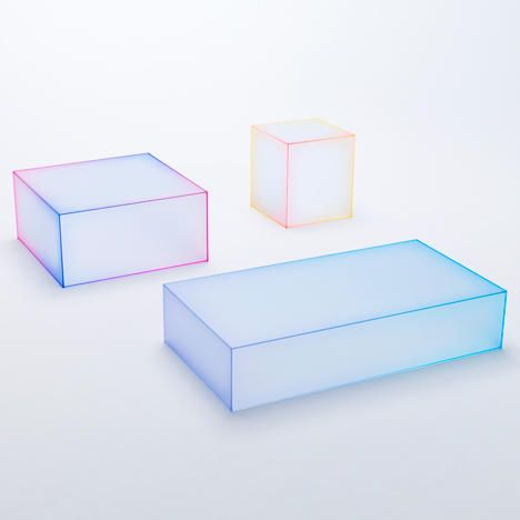 Nendo Previews Soft Glass Table Collection For Milan Exhibition ...