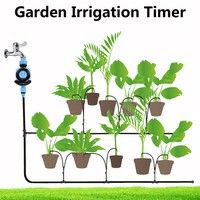 Wish | Family Garden Irrigation Dial Automatic Electronic Water Timer Garden Watering Super Present (Size: 1)