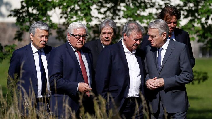 MSN - Top EU Nations Begin Brexit Talks - Without UK