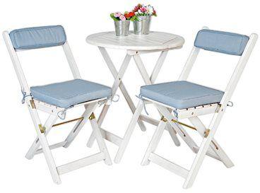 Met deze tuinset kun je heerlijk in de tuin zitten. De set bestaat uit een tafel en 2 stoelen met kussens. Heerlijk voor een lange zomeravond of zonnige namiddag!
