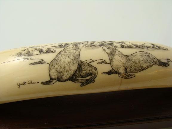 Best eskimo ivory carvings images on pinterest