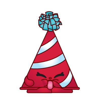 Marty Party Hat - Red