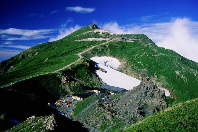槍ヶ岳とともに北アルプスで登山者の人気を二分する白馬岳