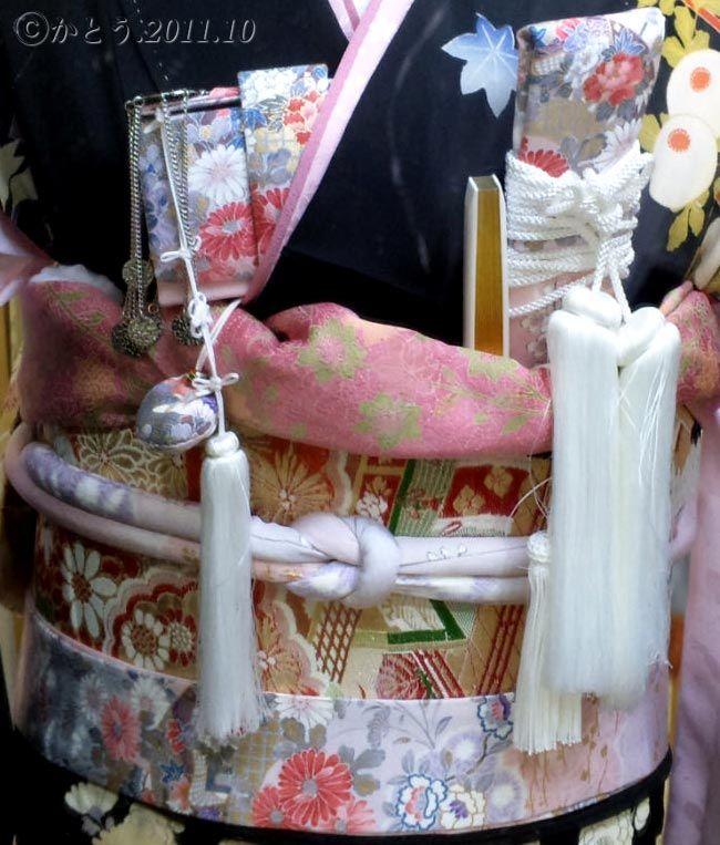 婚礼衣装 筥迫 懐剣 丸ぐけ帯締め 袋帯