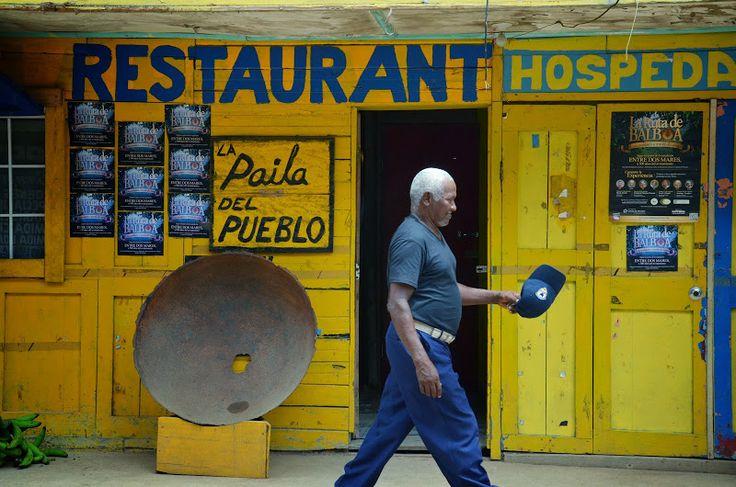 Rue de La Palma, capitale du Darien (Panama)