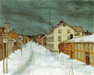 I'm really into painter Harald Sohlberg, would love a print