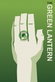 Green Lantern Comic Book Poster